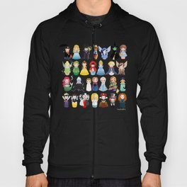 Kokeshis Fairy tales (new version) Hoody