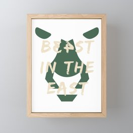Beast In The East x MKE #34 Framed Mini Art Print