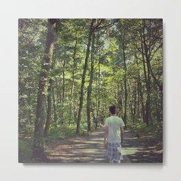 Forêt Metal Print