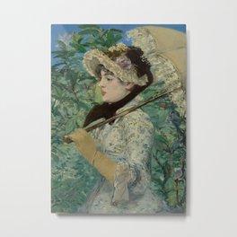 Edouard Manet - Spring Metal Print