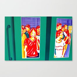 """""""Working Class Station"""" Canvas Print"""