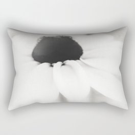 Ethereal Black-eyed Susan BW Rectangular Pillow