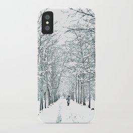 winter symphony iPhone Case
