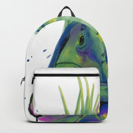 Splash Art Iguana Backpack