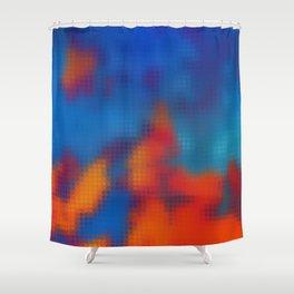 Digital Clouds MMXVIII-2B Shower Curtain