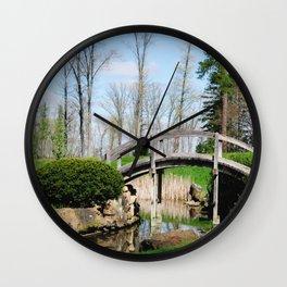 Across the stream Wall Clock
