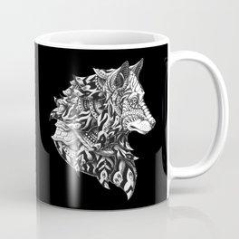 Wolf Profile Coffee Mug