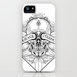 Courage Is What You Need iPhone Case