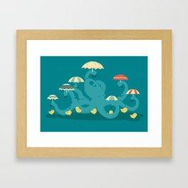 Keepin' the Chicks Dry Framed Art Print