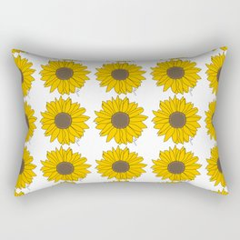 Sunflower Power Rectangular Pillow