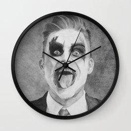 Let Me Entertain You Wall Clock