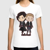 johnlock T-shirts featuring Johnlock by Alex Mathews