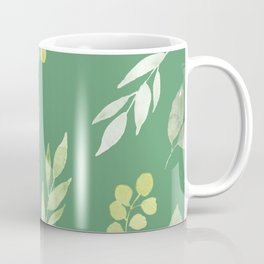 floral, succulent Coffee Mug