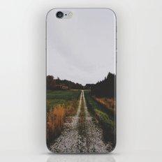 Down the winding road iPhone & iPod Skin