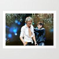 niall horan Art Prints featuring Niall Horan by Adrian Tabraue