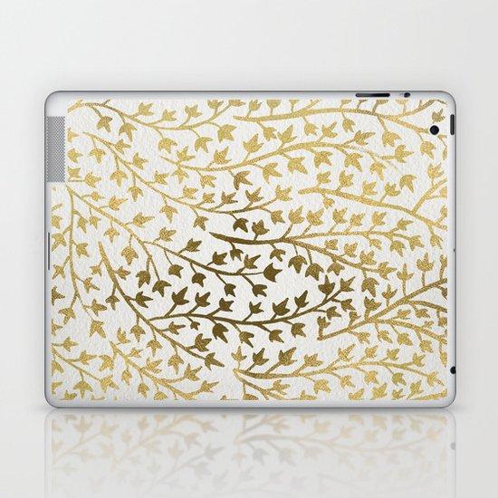 Gold Ivy Laptop & iPad Skin