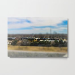 Train by Monique Ortman Metal Print