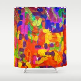 A Gust of September Wind Shower Curtain
