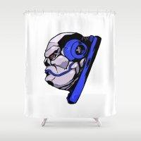 xmen Shower Curtains featuring x24 by jason st paul