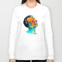ford Long Sleeve T-shirts featuring Anatomy [Ellis+Ford] by Alvaro Tapia Hidalgo