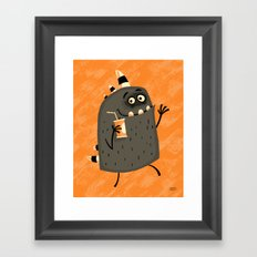 Fizzy Drink Framed Art Print