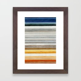 Colorbands Yellowstone Framed Art Print