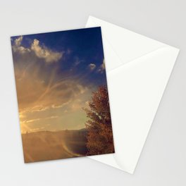 Colorado Flag in a Sunset Stationery Cards