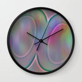 Shinning relief Wall Clock