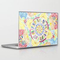 kaleidoscope Laptop & iPad Skins featuring Kaleidoscope by Syrupea