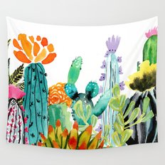 A Prickly Bunch Wall Tapestry