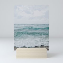 summer beach xxiii / praia brava, brazil Mini Art Print