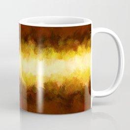 Liquid Gold Sunbeam with Burnished Bronze Coffee Mug