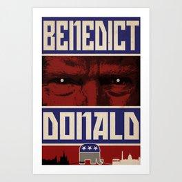 Benedict Donald Art Print