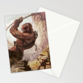 Giant's Wrath Stationery Cards