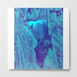 Blue Gorge Metal Print