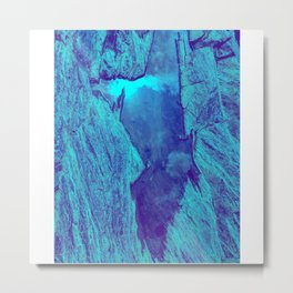 Blue Gorge Metal Print
