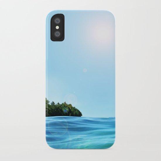 The Happy Isle iPhone Case