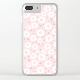 Starfish and sand dollars Clear iPhone Case