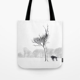 Winter Blizzard Tote Bag