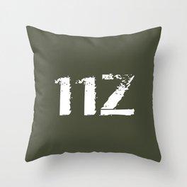 11Z Infantry MOS Throw Pillow