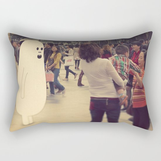 l o s t i n c h e n g d u Rectangular Pillow