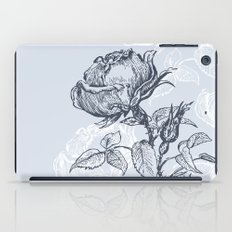 Graphic drawing roses iPad Case