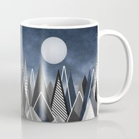Midnight Mountains Mug