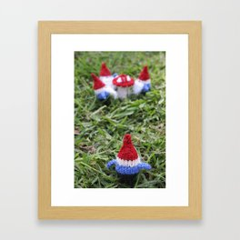 Meeting of the Gnomes Framed Art Print