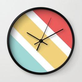 Chatty spaceship Wall Clock