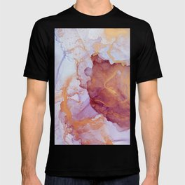 Pink luxury marble T-shirt