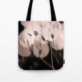 seeds bokeh Tote Bag