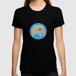 Blue Safari Elephant T-shirt