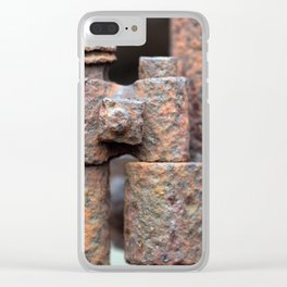 Form and Shape Clear iPhone Case