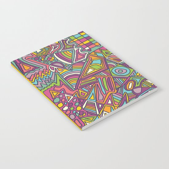 Colourful Chaos Notebook